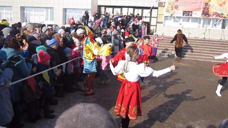 МегаТанцы-2018 -русский народный танец Варенька .