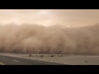 Major dust storm in Saudi Arabia yesterday, Feb 23