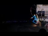 Лексина Таисия 1 место  aerial hoop 6-9 лет