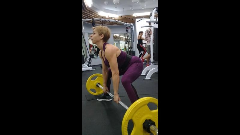 No Limits gym Подопечная Светлана Становая тяга 50×3💪🏋