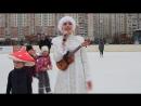 Снегурочка. Снежинка из к/ф Чародеи под укулеле.
