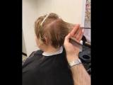 Арсен Товмасян женская стрижка на среднюю длину