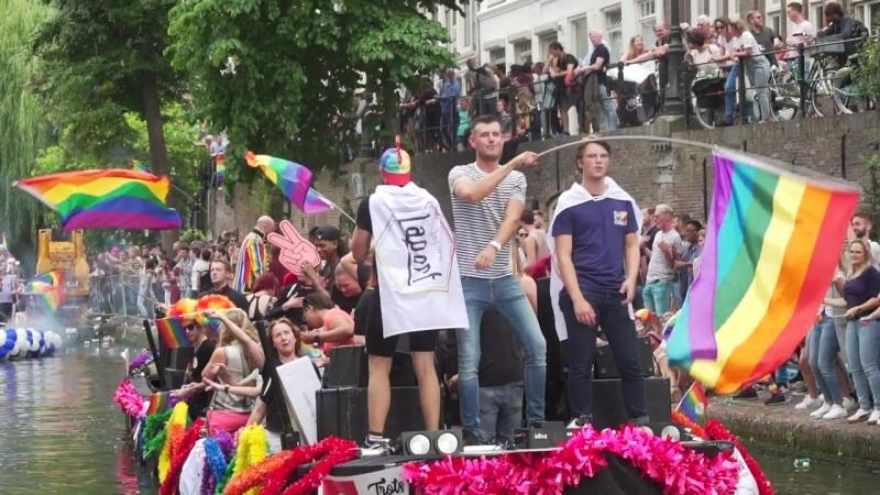 Officiële aftermovie Utrecht Canal Pride 2018 - Facebook