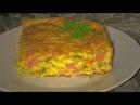 Кабачковая запеканка с сыром. Заливной пирог с кабачками.