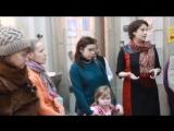 Полина Хомайко об открытии выставки