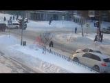 В Ярославле водитель переехал женщину на зебре