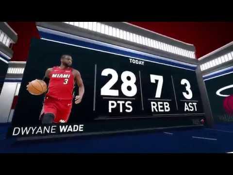 NBA Nightly Notable Dwyane Wade April,16 2018