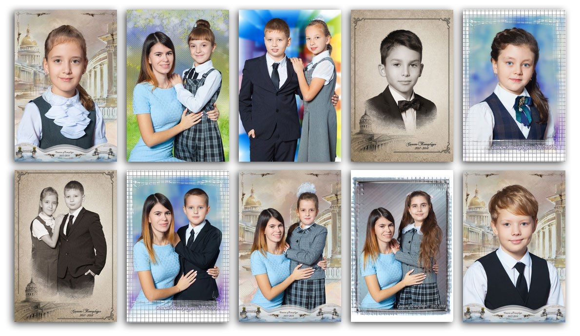 Фотосессия вшколе №114Выборгского района Санкт-Петербурга (3б класс) . Фотосессия «Моя любимая учительница» , портретная исюжетная фотосъёмка