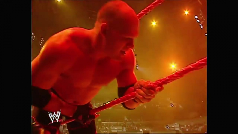 Kane Attacks Booker T Raw 12.29.2003