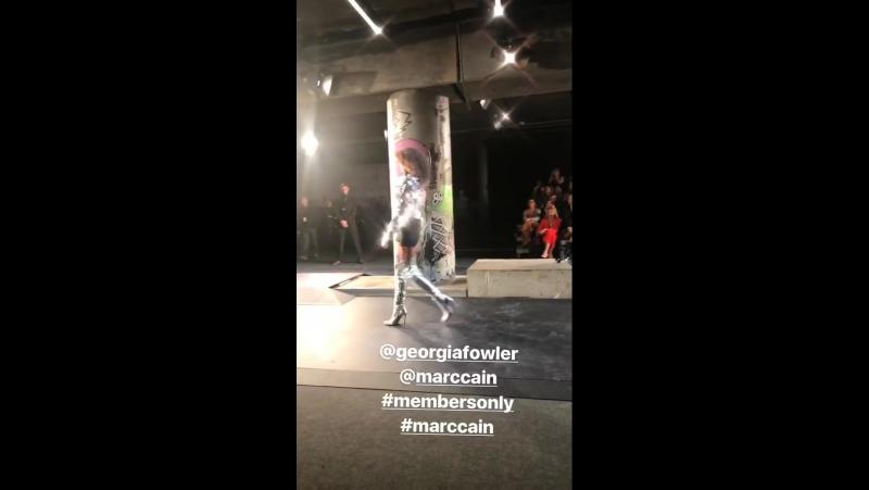 Показ бренда «Marc Cain» в рамках Недели моды в Берлине -- 16/01/18
