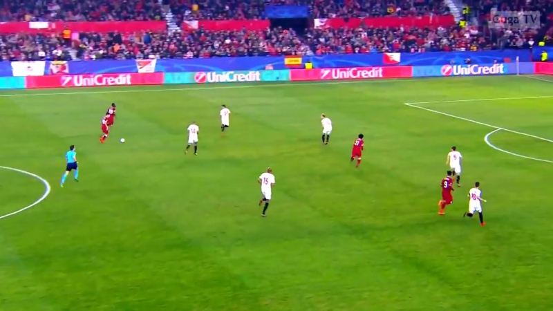 Sevilla vs Liverpool 3-3 - UCL 2017_2018 - Highlights (English Commentary) HD 10
