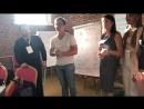 Презентация разработанного продукта на мастер классе о дизайне мышления от Google