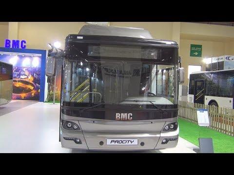 BMC Procity CNG 12 M Bus (2016) Exterior and Interior
