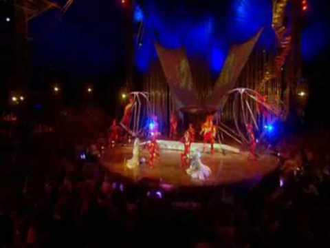 Cirque du Soleil's Varekai Russian Swings