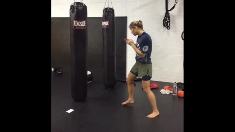 Тренировка Марины Мороз, VFS Academy (3)