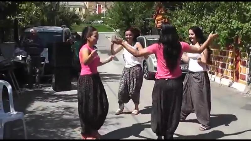 Şalvarlı Kızlar Düğünde Oyun Havası