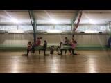 Танец от участников зимней смены в лагере ДОЛ Молодежное. Тренер Полина Кабанова