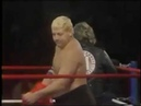 Adrian Adonis Dick Murdoch in action Championship Wrestling Oct 13th, 1984
