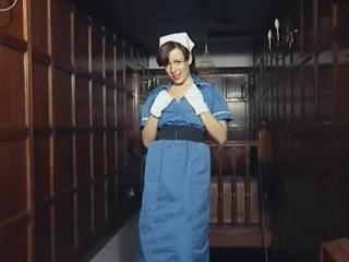 The naughtiest nurse british huge boobs striptease