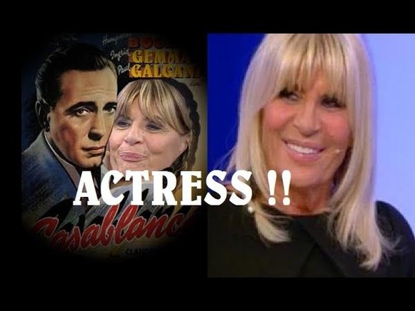 CLAMOROSO! GEMMA GALGANI AL CINEMA!E' STATA NOTATA DA UN FAMOSO REGISTA ITALIANO!!