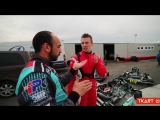 A kart training day for Daniil Kvyat