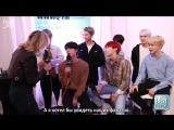 [RUS SUB][19.11.17] BTS @ The Bert Show