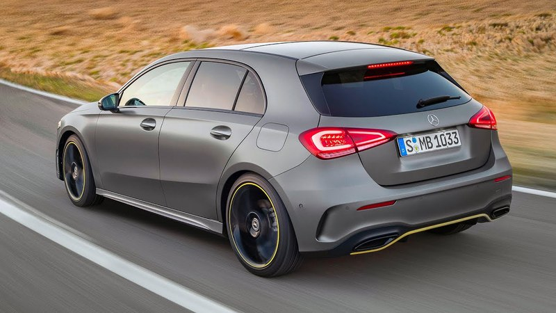 The new Mercedes A-Class w177 Edition