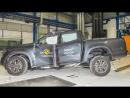 Краш-тест Mercedes X-Class