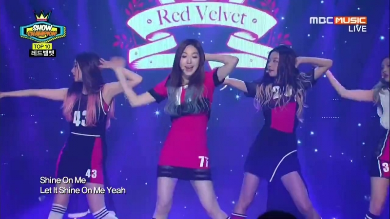 140820 Red Velvet - Happiness @ Show Champion