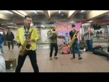 Lucky Chops - Subway Performance - WoW - Get Lost To Be Found