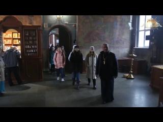 Ученики гимназии №4 посетили Владимирский храм с экскурсией
