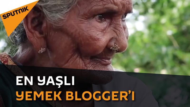 En yaşlı yemek bloggerı