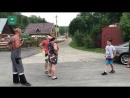 Разъяренный автомобилист разнес гараж пострадавшего в ДТП пешехода в Кузбассе