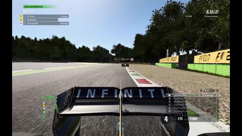 Monza penalty