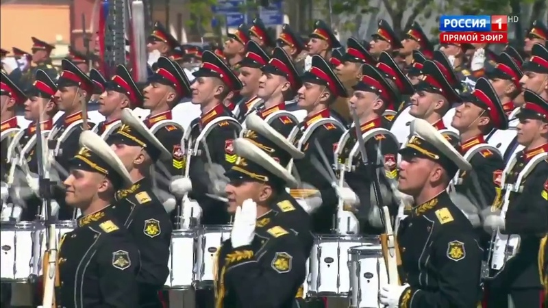 Барабанщики виртуозы Virtuoso drummers Moscow Victory Parade on May 9 2018