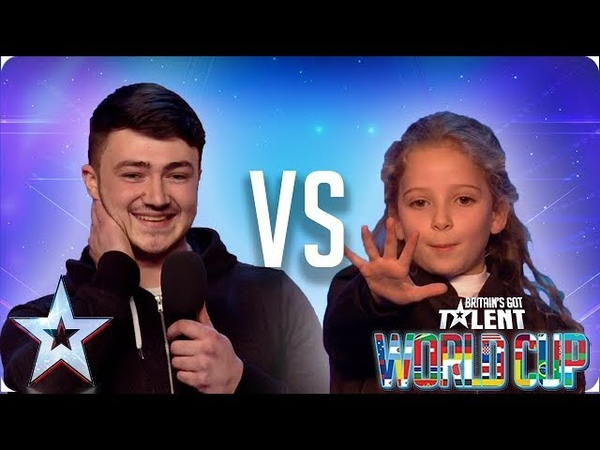 Wayne Woodward vs Issy Simpson   Britain's Got Talent 2018