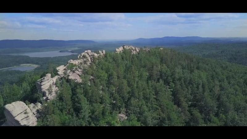 Аракульские Шиханы с высоты 4K - Arakul Shihans (Russia, The Ural Mountains)