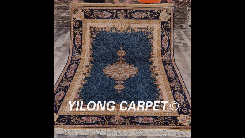 ZQG88A Oriental traditional rug Persian handmade silk carpet modern wool carpet