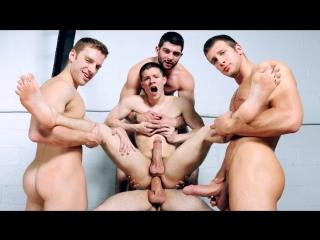 Групповуха с операторами на съёмках порнухи гей порно, анал трах ёбля, gay porn