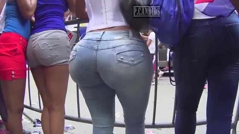 A huge ass in jeans sunsummerass