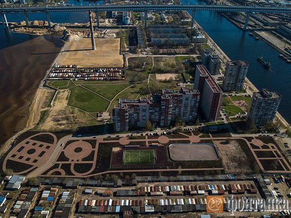 РПЦ забирает новый парк