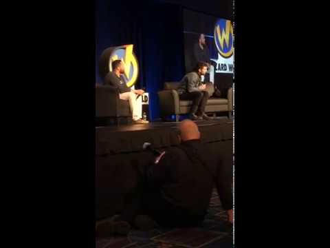 Sebastian stan panel at wizard world philly!! spoiler alerts probably