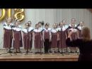 Хор Покров младшая группа руководитель Глусская Евгения Борисовна концертмейстер Загородная Анна Леонидовна