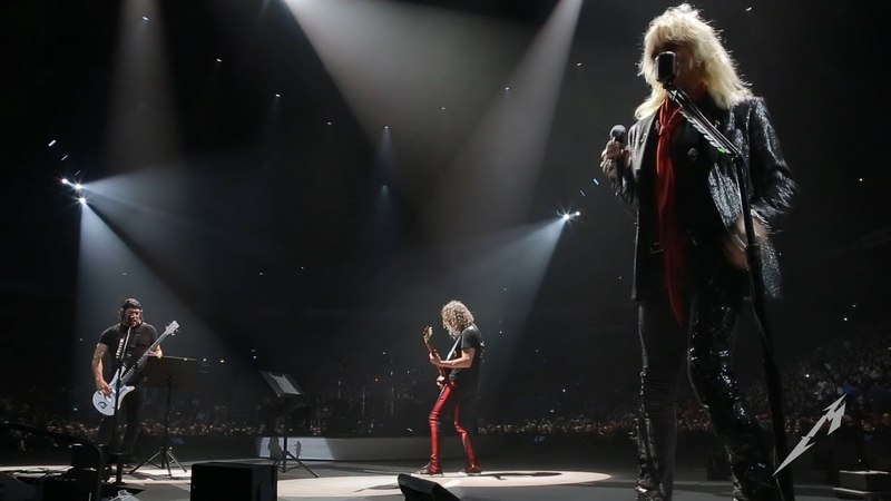 Metallica Dead Jail or Rock 'N' Roll w Michael Monroe Rob Kirk Doodle Finland 2018