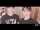 СпА TRANS 180411 Official Twitter Update JinJin Moonbin and Rocky