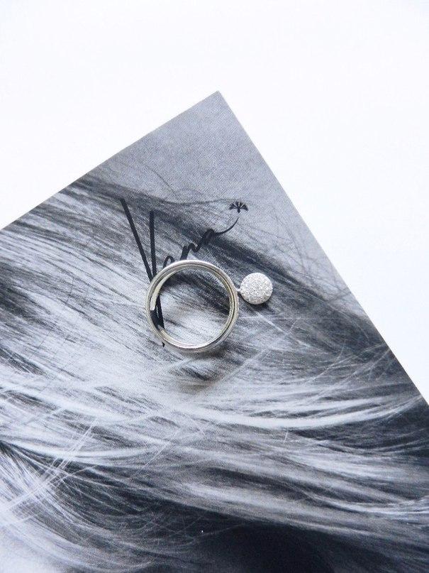 Серебряное кольцо с подвеской от ORSA_JEWELS_Official