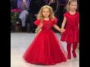 3-летняя дочь Татьяны Навки и Дмитрия Пескова Надя