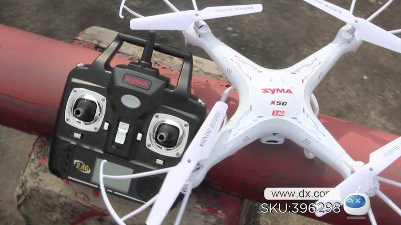 Dx : SYMA X5C-1 2.4GHz 4-CH Radio Control UFO Quadcopter w/ Camera