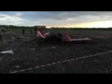 В Алтайском крае упал самолет, пилот и пассажир погибли