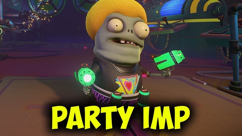ПАТИ ИМП (Party Imp) - Легендарный Обзор | Plants vs Zombies Garden Warfare 2